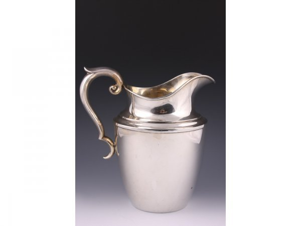 10: Alvin Sterling Silver Water Pitcher,
