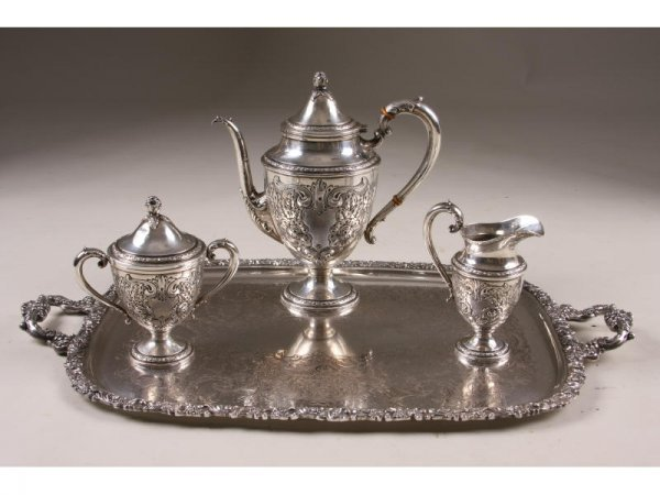 20: Frank Whiting Sterling Silver Coffee Service,