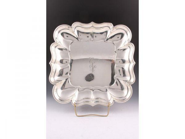 "24: Reed & Barton Sterling Silver ""Windsor"" Tray,"