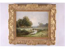 100: Constant Troyon (French, 1810 - 1865), Pastoral,