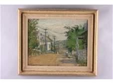246 American Impressionist School City Street