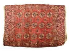 278 Turkoman Tekke Antique Area Rug