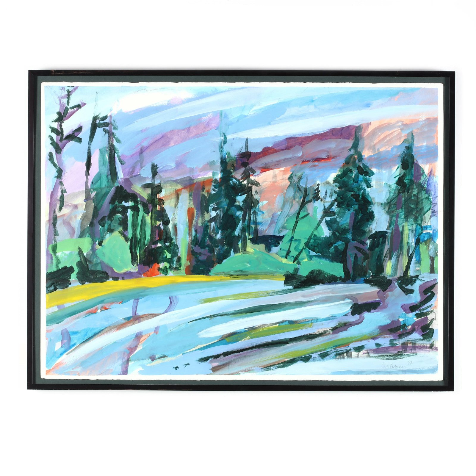 A Contemporary Landscape Painting (Maine)