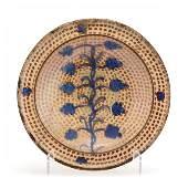 Hispano-Moresque Earthenware Dish