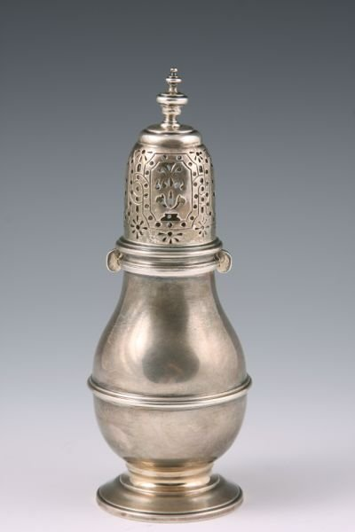 5: Sterling Silver Sugar Caster by Spink & Son,