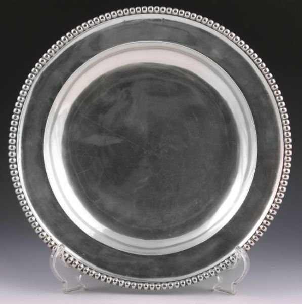 12: Continental Silver Serving Bowl, ca. 1800,