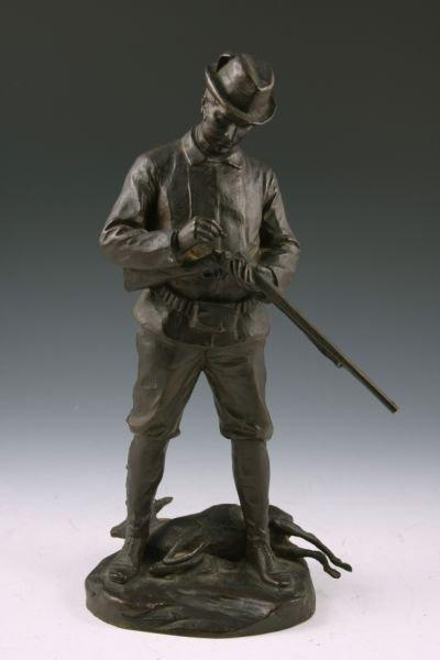 246: Hans Muller (Austria, 1873 - 1937), Signed Bronze,