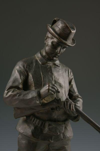 246: Hans Muller (Austria, 1873 - 1937), Signed Bronze, - 2