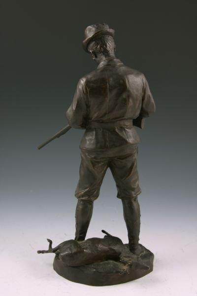 246: Hans Muller (Austria, 1873 - 1937), Signed Bronze, - 3