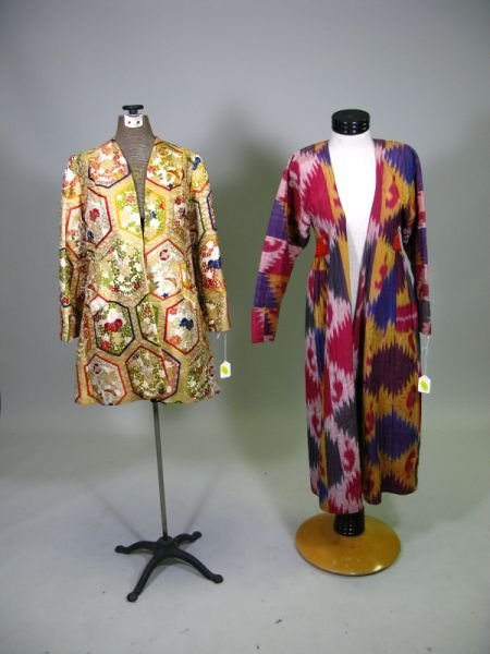 1001: Two Vintage Casual Evening Coats,