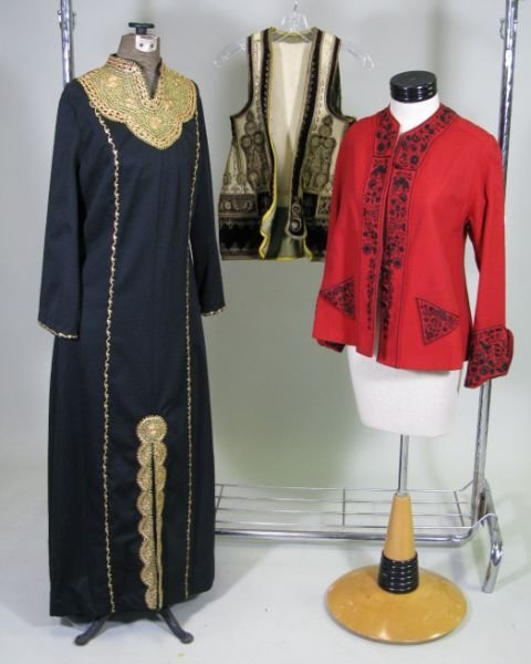 1004: Three Traditional Clothing Articles,