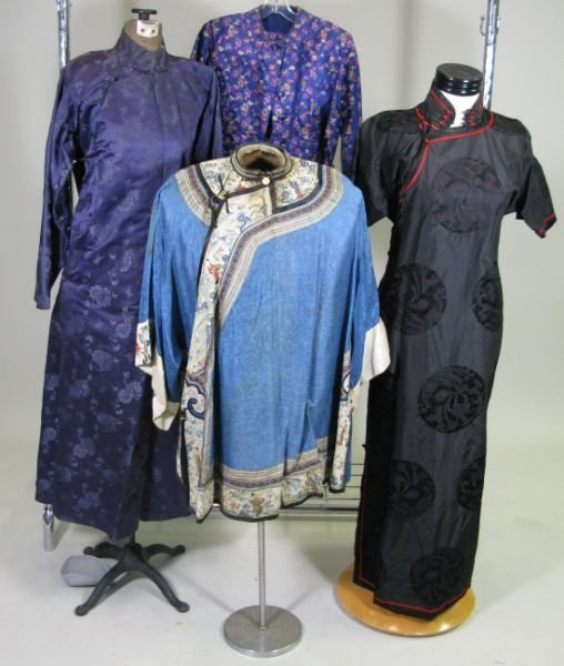 1005: Four Chinese Silk Articles,