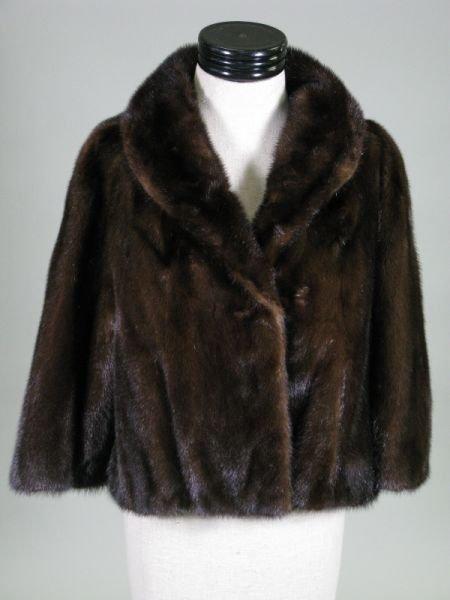 1018: Vintage Lady's Mink Evening Jacket,