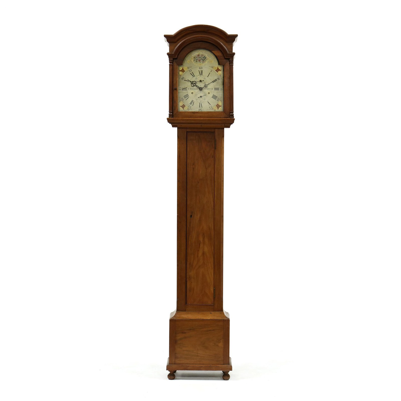 North Carolina Walnut Tall Case Clock