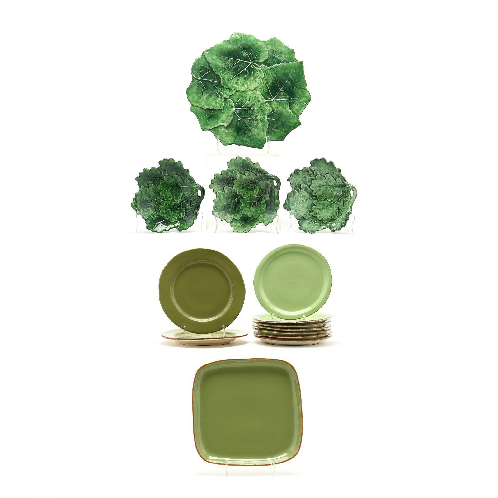 Vietri Green Glazed Tableware (14)