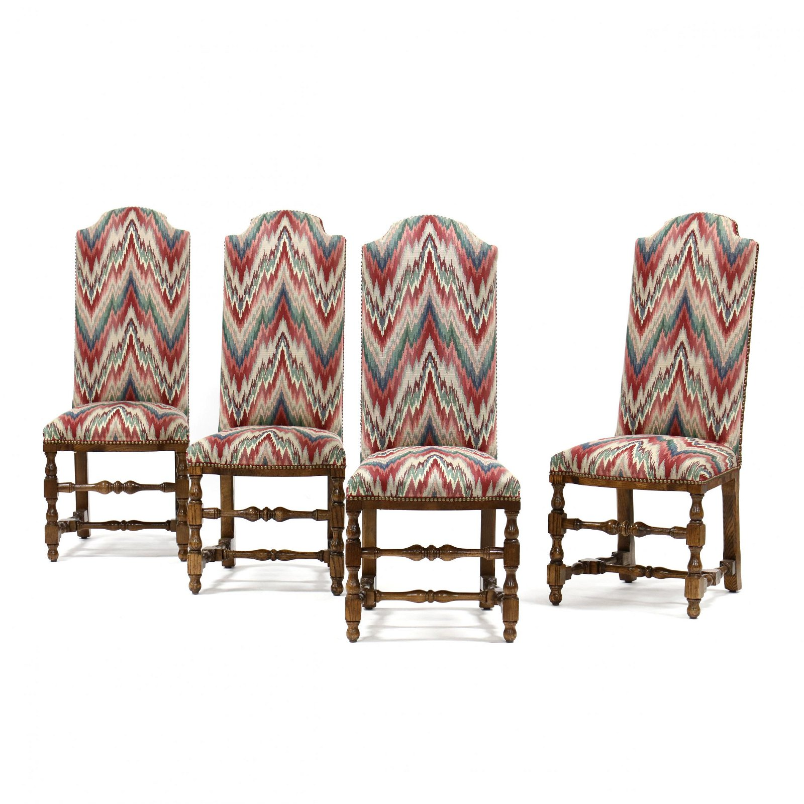Set of Four Century Chair Co., Spanish Style Side