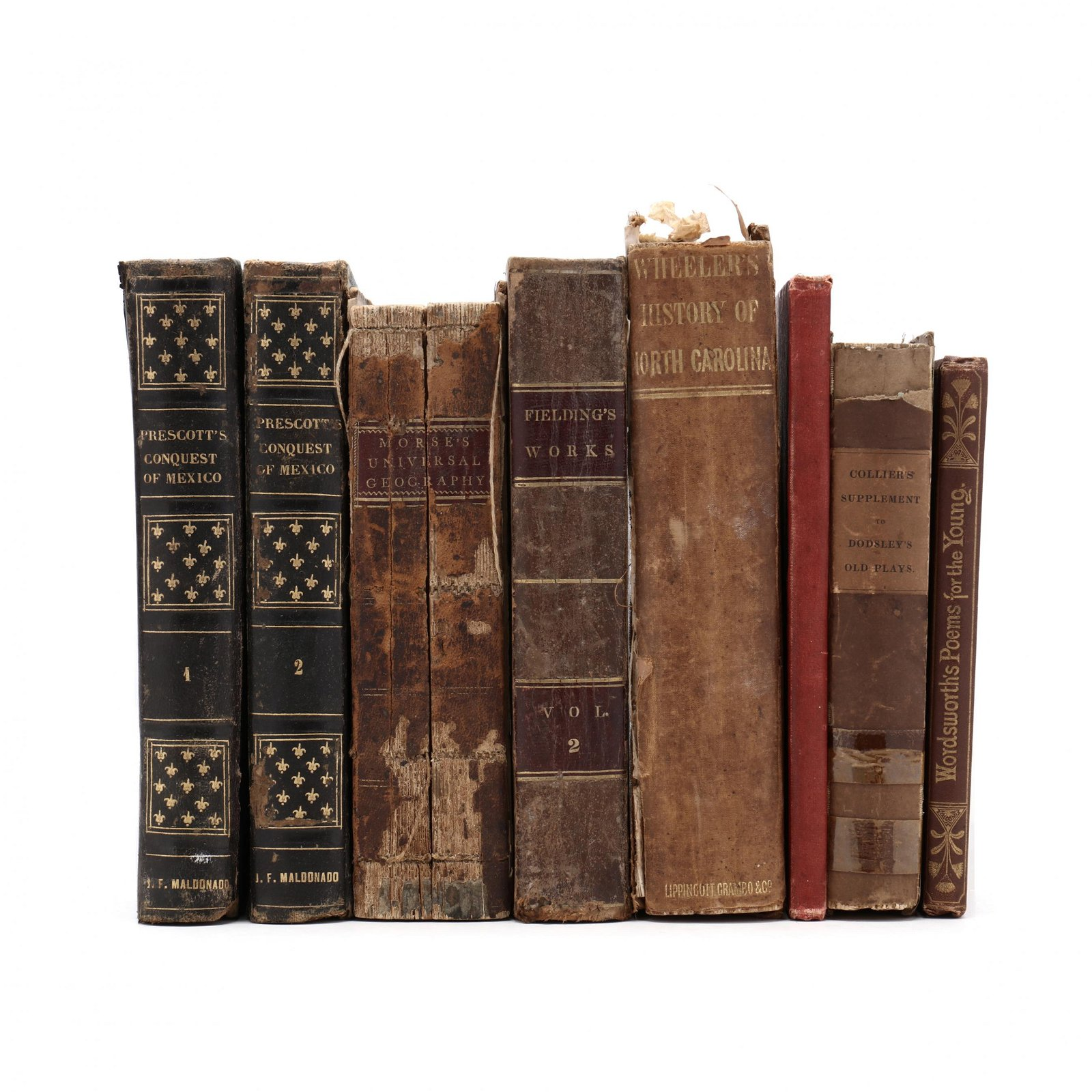Eight 19th Century Books