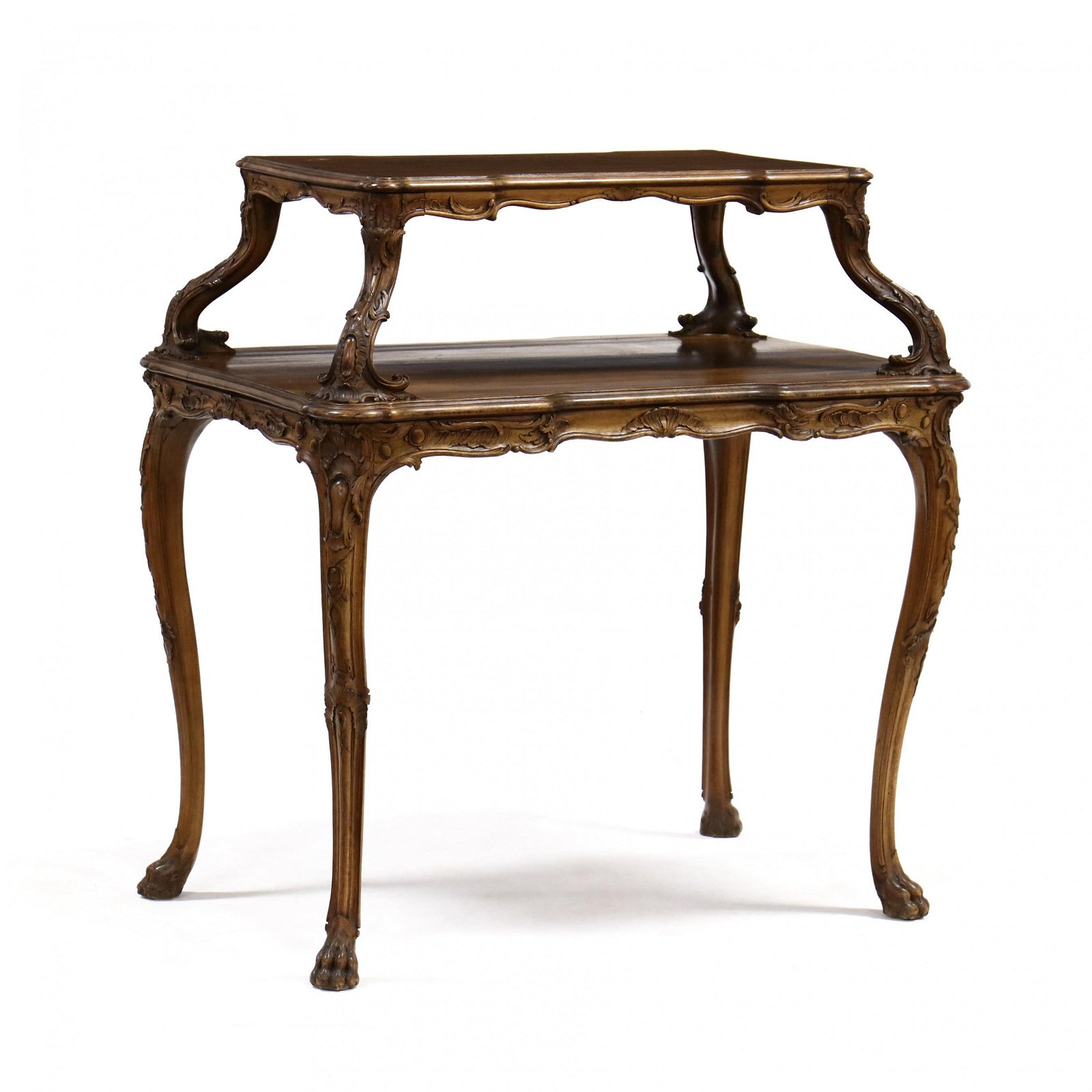 Louis XV Style Two Tiered Dessert Stand
