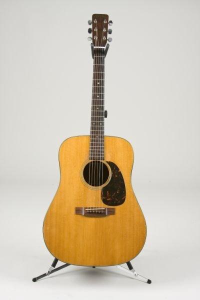 2001: Vintage 1964 Martin D-18 Flat Top Guitar,