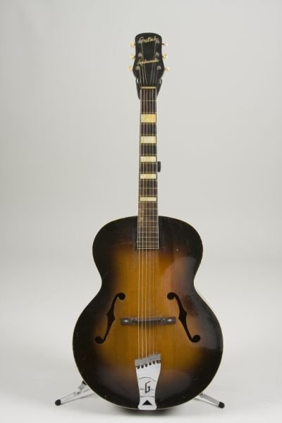 2014: Vintage Gretsch Synchromatic Archtop Guitar,