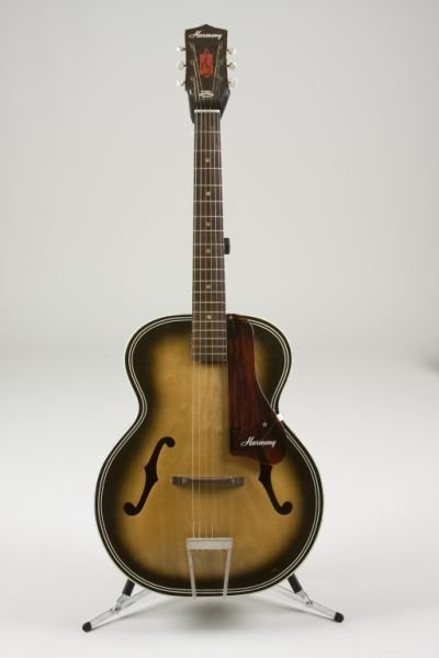 2015: Vintage Harmony Archtop Acoustic Guitar,