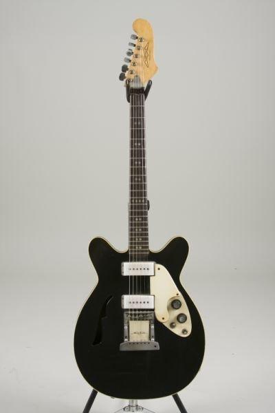 2020: Vintage Microfrets Spacetone Electric Guitar,