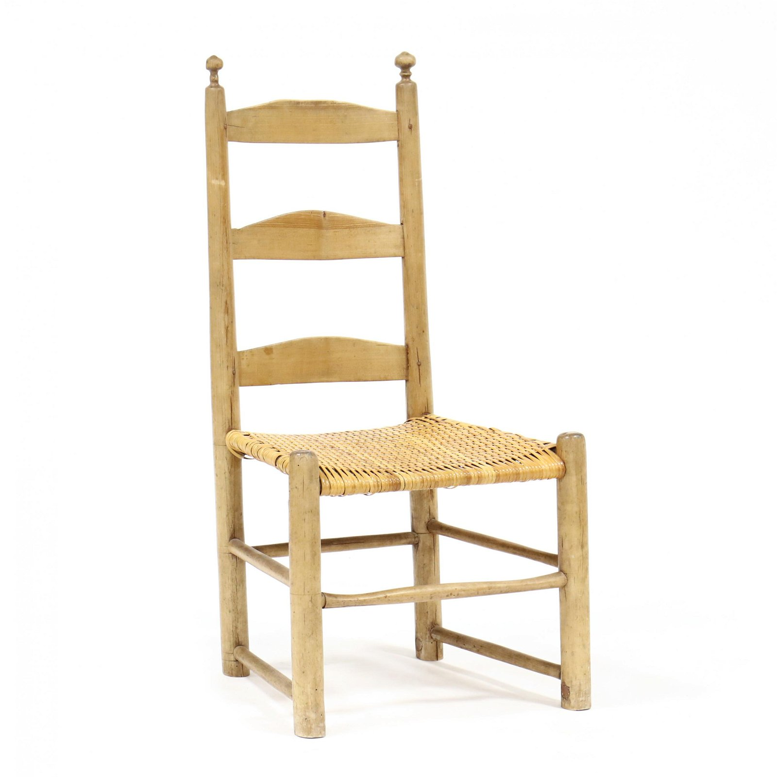 Antique American Ladderback Side Chair