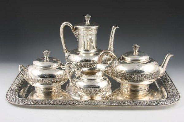 1: Tiffany & Co. Sterling Silver Tea & Coffee Service