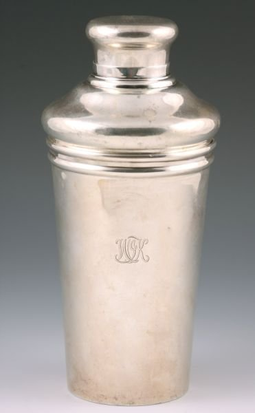 2: Tiffany & Co. Sterling Silver Cocktail Shaker,