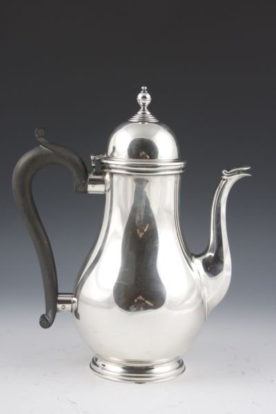 5: English Sterling Coffeepot for Tiffany & Co,