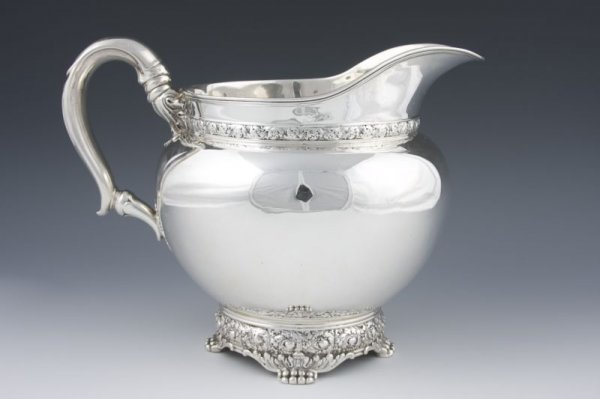 7: Tiffany & Co. Sterling Silver Water Pitcher,