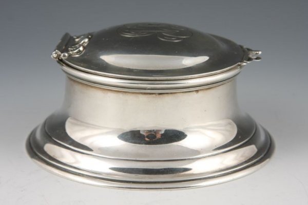 19: Tiffany & Co. Sterling Silver Inkwell,