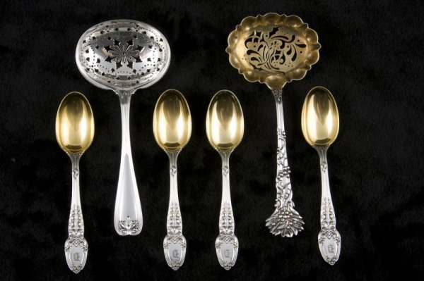 22: Group of Tiffany & Co. Sterling Silver Flatware,