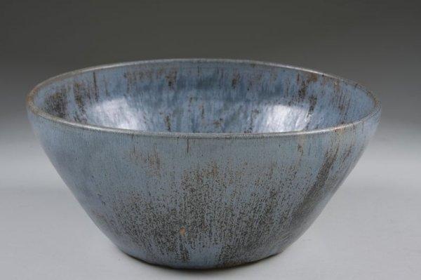 110: NC Pottery, AR Cole, Punch Bowl, Cups, & Ladle, - 2