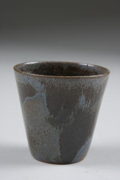 110: NC Pottery, AR Cole, Punch Bowl, Cups, & Ladle, - 8