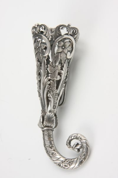 165: English Sterling Silver Posy Holder / Tussy Mussy,