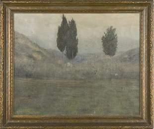 204: Alexander Harrison (CA/NY/France, 1853-1930),
