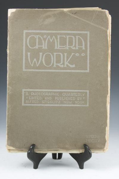 457: Alfred Stieglitz Photography Journal,