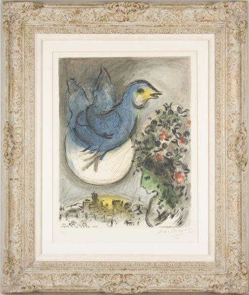 "721: Marc Chagall (1887-1985), ""L'Oiseau Bleu,"""