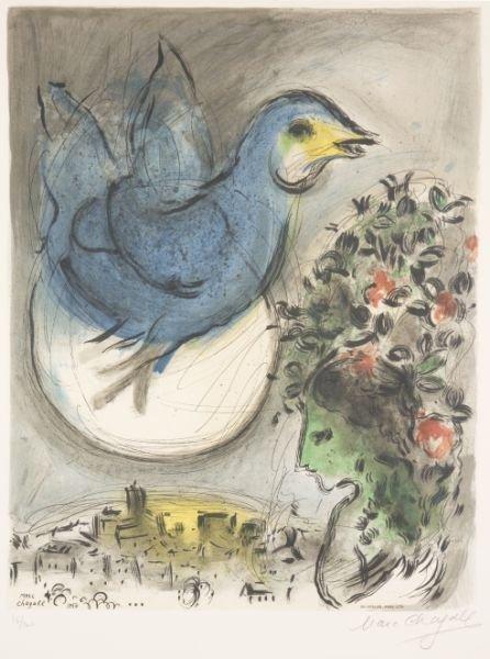 "721: Marc Chagall (1887-1985), ""L'Oiseau Bleu,"" - 2"
