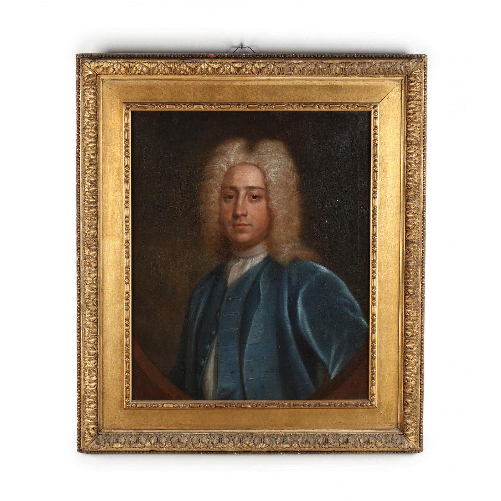 English School (early 18th century), Portrait of a Man