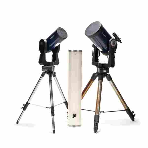 Three Telescopes, Including Two by Meade with
