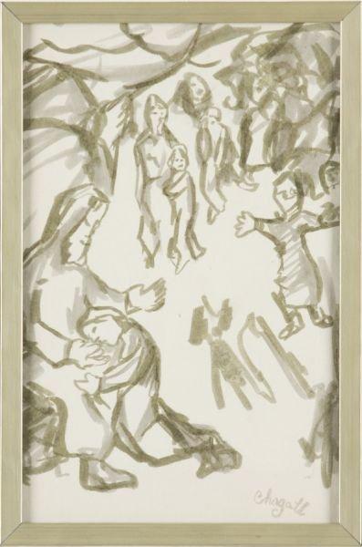 22: att. Marc Chagall (1887-1985), Biblical Scene,