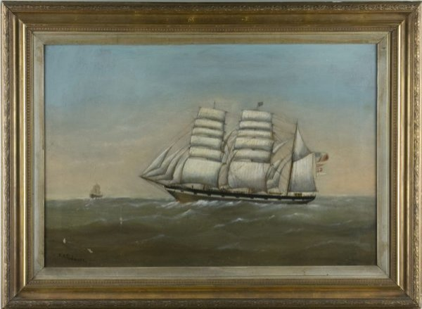 23: Edward King Redmore (Br., 1860-1941), In Full Sail