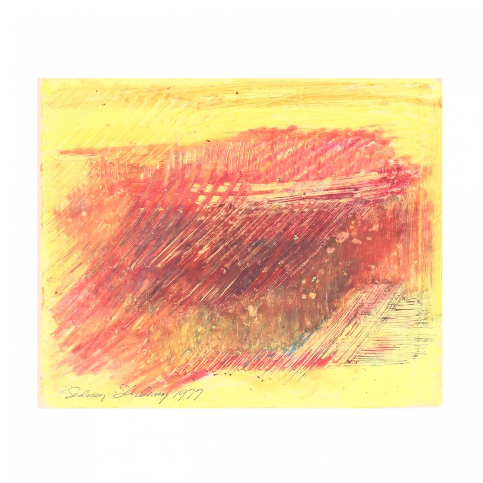 Chilean School (20th century), Untitled Abstract
