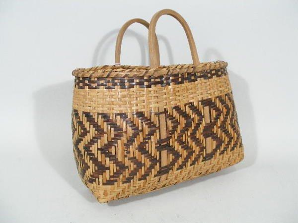 5: Cherokee River Cane Basket,