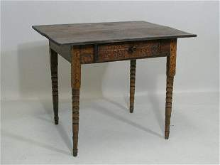 Folky Southern Worktable,