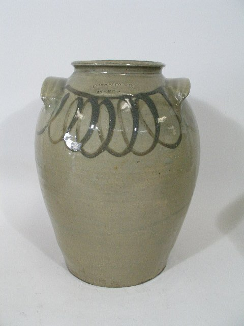 180: SC Pottery Jar by Thomas Chandler, Edgefield, Co.,