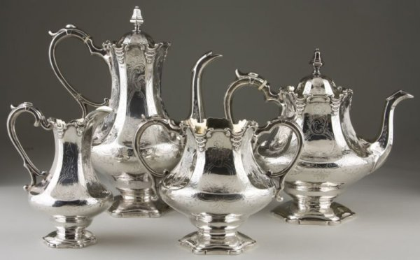 2: Scottish Sterling Silver Tea & Coffee Service,