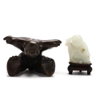 Two Small Figural Sculptures